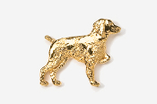 #455G - Brittany 24K Gold Plated Pin