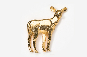 #469G - Doe 24K Gold Plated Pin