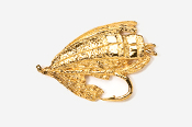 #513G - Salmon Fly 24K Gold Plated Pin