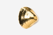 #540G - Clam 24K Gold Plated Pin
