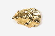 #544G - Oyster 24K Gold Plated Pin