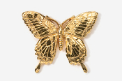 #570G - Tiger Swallowtail 24K Gold Plated Pin