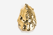 #P544G - Oyster 24K Gold Plated Pendant