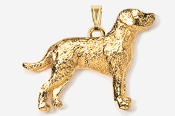 #P869G - Chesapeake 24K Gold Plated Pendant