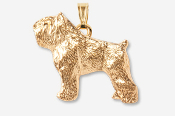 #P885G - Bouvier 24K Gold Plated Pendant