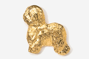 #868G - Old English Sheep Dog 24K Gold Plated Pin