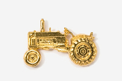 #935G - Tractor 24K Gold Plated Pin