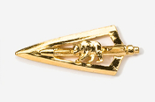 #703BG - Broadhead & Bear 24K Gold Plated Pin