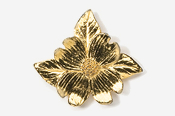 #750G - Dogwood Blossom 24K Gold Plated Pin