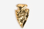#702G - Arrowhead 24K Gold Plated Pin