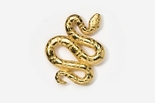 #606G - Snake 24K Gold Plated Pin