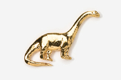 #620G - Brontosaurus 24K Gold Plated Pin