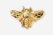 #578G - Bee 24K Gold Plated Pin