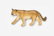 #426P - Mountain Lion Hand Painted Pin