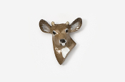 #465AP - Button Buck Hand Painted Pin
