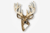 #468BP - 12 Point Buck Hand Painted Pin