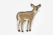#469P - Doe Hand Painted Pin
