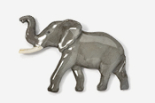 #490P - Elephant Hand Painted Pin