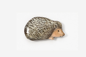 #498P - Hedgehog Hand Painted Pin
