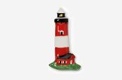 #960P - Lighthouse Hand Painted Pin