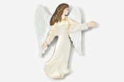 #975P - Angel Hand Painted Pin