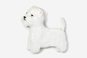#863P - Westie Hand Painted Pin