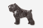 #885P - Bouvier Hand Painted Pin