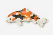 #133AP-OT - Koi Hand Painted Pin