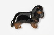 #455CP-BT - Cavalier King Charles Hand Painted Pin
