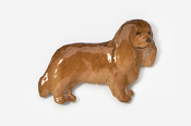 #455CP-R - Cavalier King Charles Hand Painted Pin