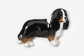 #455CP-T - Cavalier King Charles Hand Painted Pin