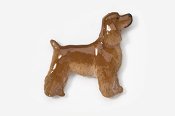 #455EP-R - Pet Clip Cocker Spaniel Hand Painted Pin