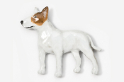 #460CP-RW - Bull Terrier Hand Painted Pin