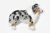 #458CP-BM - Collie Hand Painted Pin
