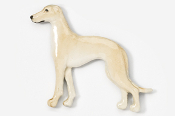 #453AP-F - Greyhound Hand Painted Pin