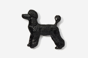 #461DP-B - Pet Clip Poodle Hand Painted Pin