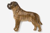#463CP-BR - Mastiff Hand Painted Pin