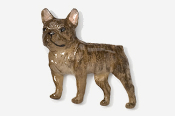 #463FP-BR - French Bulldog Hand Painted Pin