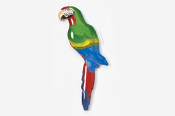 #354P-M - Military Macaw Hand Painted Pin