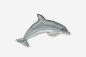 #475P-B -Bottlenose Dolphin Hand Painted Pin