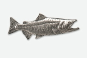 #137 - Chum / Dog Salmon Antiqued Pewter Pin