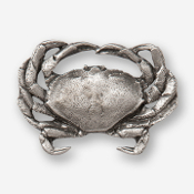 #D53150 - Dungeness Crab Pewter Drawer Pull