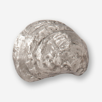 #D54410 - Oyster Pewter Drawer Pull