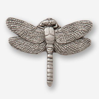 #D56900 - Dragonfly Pewter Drawer Pull