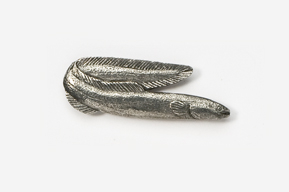 #153 - Eel Antiqued Pewter Pin