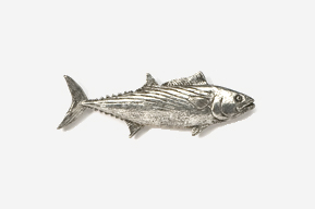 #210 - Bonito Antiqued Pewter Pin