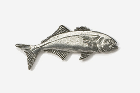 #212 - Bluefish Antiqued Pewter Pin