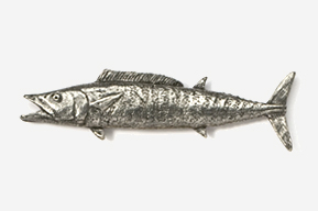 #232 - Wahoo Antiqued Pewter Pin