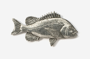 #238 - Porgy Antiqued Pewter Pin