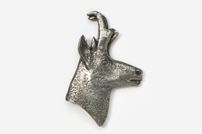 #432 - Pronghorn Antiqued Pewter Pin